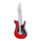 UD002 Metal Electric Guitar Style USB 2.0 Flash Drive - Red + Silver + Black (8GB)