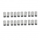 Iron 4.19MHz SMD Passive Crystals - Black + Silver (20 PCS)