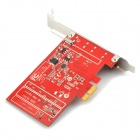 C727 HDMI 1.3 PCI-Express 1080P Full HD HDMI Capture Card - Rood + Zilver