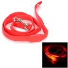 GD321 3-Mode Red Light LED blinkt Nylon Leine für Haustier Katze / Hund - Rot (2 x CR2016)