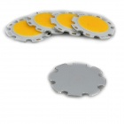 JRLED 5W 500lm 3300K 10-COB LED Warm White Light Source Modules - White + Yellow (5 PCS / DC16~18V)