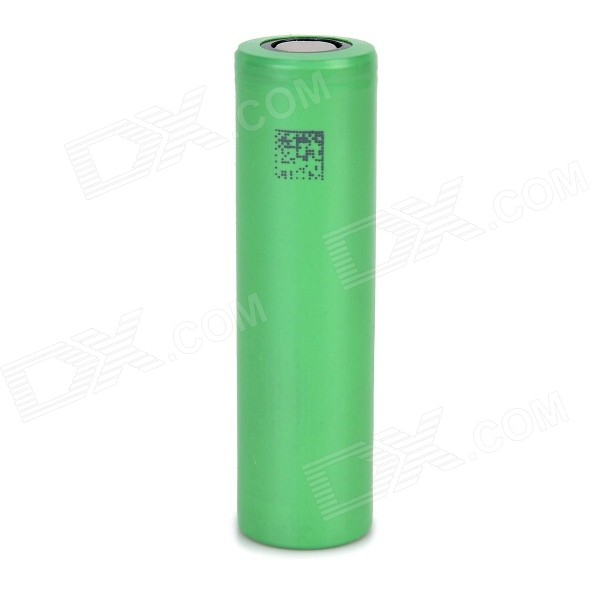 3.7V 2100mAh Rechargeable 18650 Li-ion Battery - Green