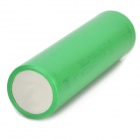 3.7V 2100mAh 18650 recargables de ion-litio - verde