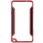 NILLKIN Protective PC + TPU Bumper Frame Case for Samsung Galaxy Note 4 N9100 - Red