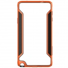 NILLKIN Protective PC + TPU Bumper Frame Case for Samsung Galaxy Note 4 N9100 - Orange