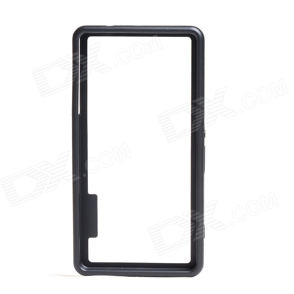 Protective TPU + PC Bumper Frame for Sony Xperia Z3 Mini - Black