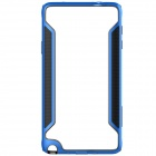 NILLKIN Protective PC + TPU Bumper Frame Case for Samsung Galaxy Note 4 N9100 - Blue