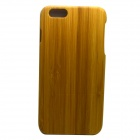 I6-P Retro Style Detachable Protective Bamboo Back Case for IPHONE 6 PLUS - Yellow