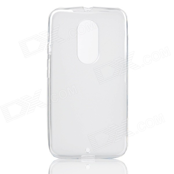 Protective Matte TPU Back Case for MOTO X+1 - Translucent White protective silicone case for nds lite translucent white