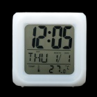 "2.7"" LCD Glowing LED Change 7 Color Digital Clock + Alarm + Calendar + Thermometer (2*AG13+4*AAA)"