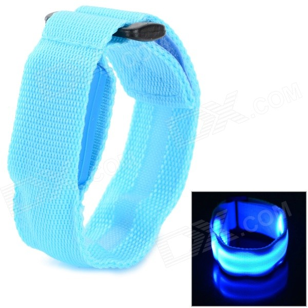 LB-1 3-Mode Blue Light LED Sports Wristband - Blue (2 x CR2016) baibeiqi women pumps high heels gladiator sandals shoes woman peep toe cut outs party wedding dress ol stiletto ladeis shoes