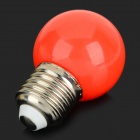 E27 1W 50lm 6000K 8-LED Holiday Decoration Bulb - Red + White + Multi-Colored (AC 220~240V / 10 PCS)