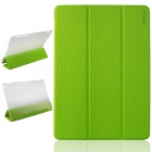 ENKAY ENK-3504 Ultra-thin Protective PU Case w/ 3-Fold Stand / Auto Sleep for IPAD AIR 2 - Green