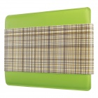 Mallper MP-BC08 Brief Case Canvas + PU Leather Carrying Bag for IPAD - Green