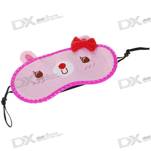 Cute Cartoon Travel Sleeping Eye-Shade Mask