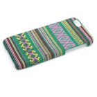 "Colored Striped Pattern Stylish Plastic Back Case for IPHONE 6 4.7"" - Green"