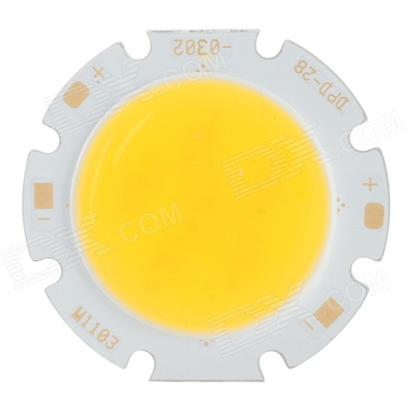 JRLED 3W 300lm 3300K 6-COB LED Warm White Light Source Modules - White + Yellow (5 PCS / DC 9~11V)