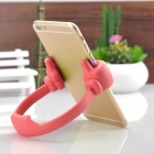 Universal Thumb-Up Style Lazier's TPU Stand for IPAD / IPHONE / Samsung - Red