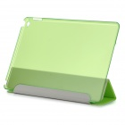 Protective Ultra-Slim Smooth Smart PU Case w/ PC Back, Stand for IPAD AIR 2 - Green
