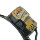 GLAREE M60 130lm 2-LED 3-Mode Cool White Light Hodelykt-Camouflage + svart (2 x AA)
