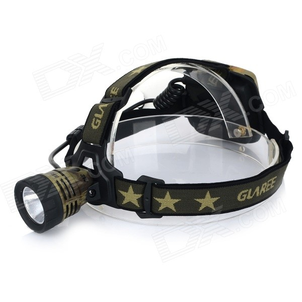 GLAREE M30 160lm 1-LED 5-Mode Cool White Light Hodelykt-Camouflage + Svart (4 x AA)