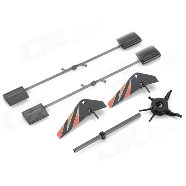 D5055 Replacement ABS R/C Helicopter Accessories Set for V911 / V911-1 / V911-2 - Black + Orange