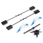 D5055 Replacement ABS R/C Helicopter Accessories Set for V911 / V911-1 / V911-2 - Black + Blue