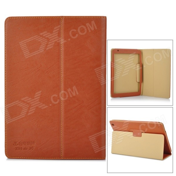 Protective PU Leather Case for Teclast X98 AIR 3G - Brown