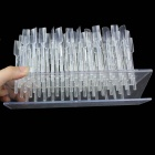 Nail Display Stand Rack Manicure Model - Transparent (64PCS)