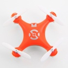 Genuine Nat Cheerson Cx-10 Mini 2.4G 4-CH 6 Axis LED RC Quadcopter Airplane - Orange