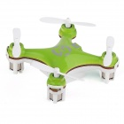 Genuine Nat Cheerson Cx-10 Mini 2.4g 4-CH 6 Axis LED RC Quadcopter Airplane - Green