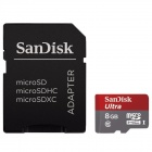 SanDisk 8GB Ultra Class 10 Micro SDHC up to 48MB/s with Adapter (SDSDQUAN-008G-G4A) Newest Version