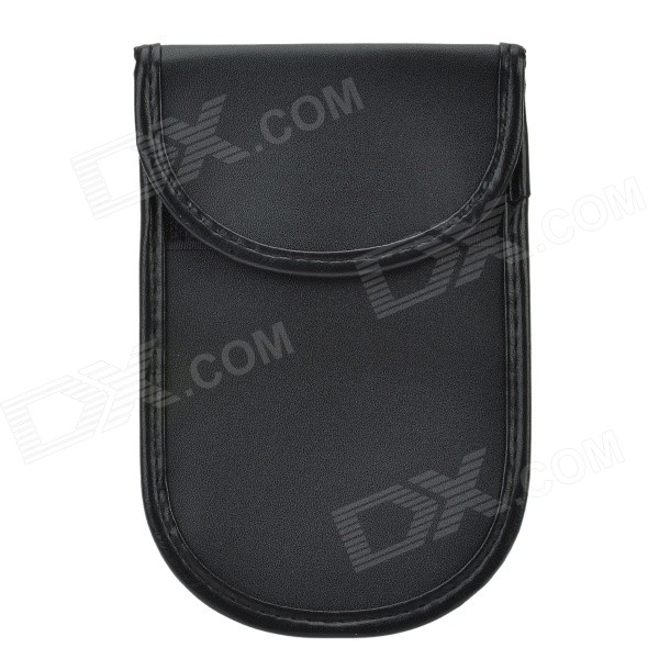 Portable Protective Anti-Radiation Signal Shielding PU Pouch Bag for 4.7