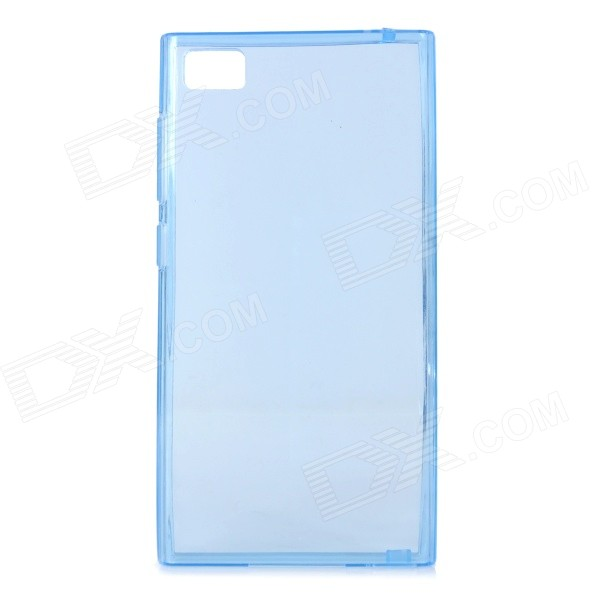 Protective TPU Back Case for Xiaomi Mi3 - Translucent Blue