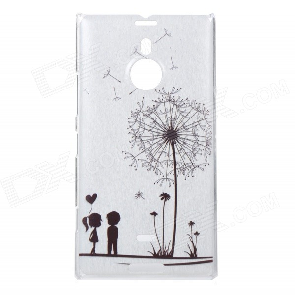все цены на Dandelion Pattern Protective PC Back Case for Nokia Lumia 1520 - Black + White онлайн