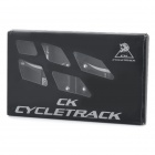 CYCLETRACK CK018 Replacement Magnesium Alloy Bicycle Pedal - Black (Pair)