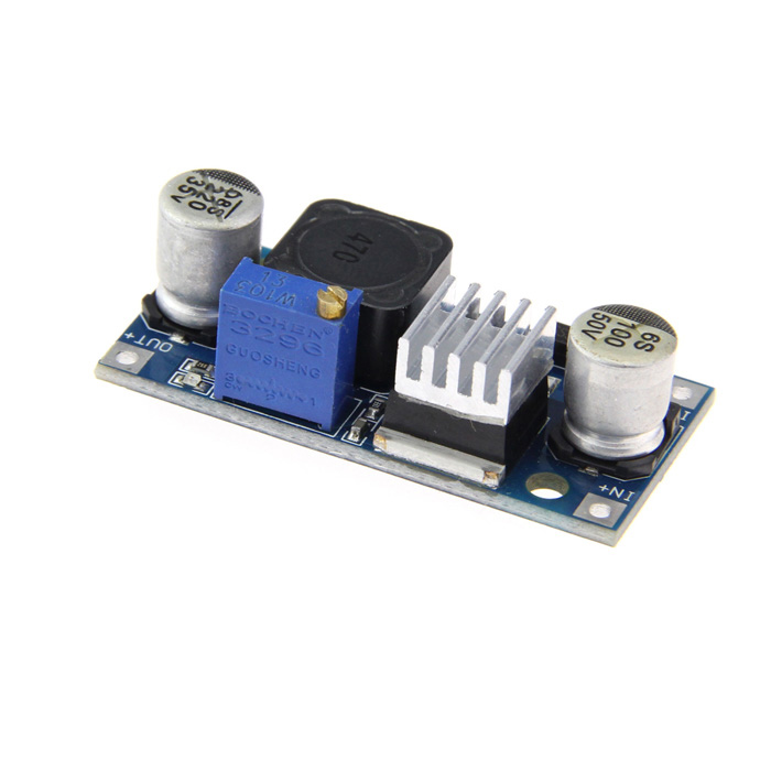 Adjustable Step-down Voltage Regulator Module - Dark Blue