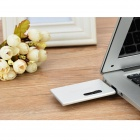 Ourspop K-10 USB 2.0 Flash Drive - серебристо-белый (16 Гб)
