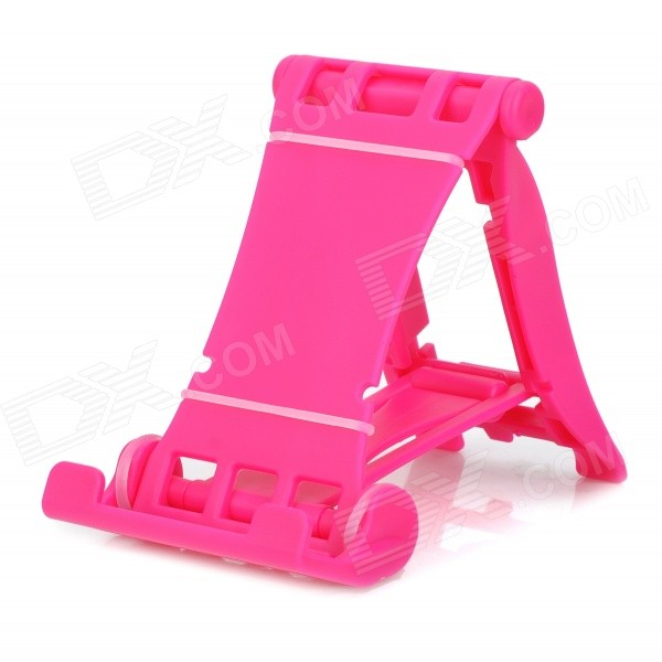 Universal Desktop 3-Mode Stand for Cell Phone / Tablet PC - Deep Pink viruses cell transformation and cancer 5