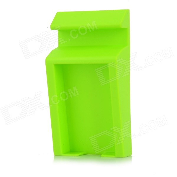 Handy Desktop Business Card / Eraser / Stationery / Memo Storage Case Box - Green