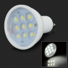 GU10 3W 250lm 6000K 9-5730 LED White Light Spotlight Cup - White (AC 100~240V)