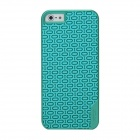 Desoficon PC + PU Protective Back Case Cover for IPHONE 5/5S - Green