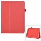 Protective PU Flip-Open Case w/ Stand for IPAD AIR 2 - Red