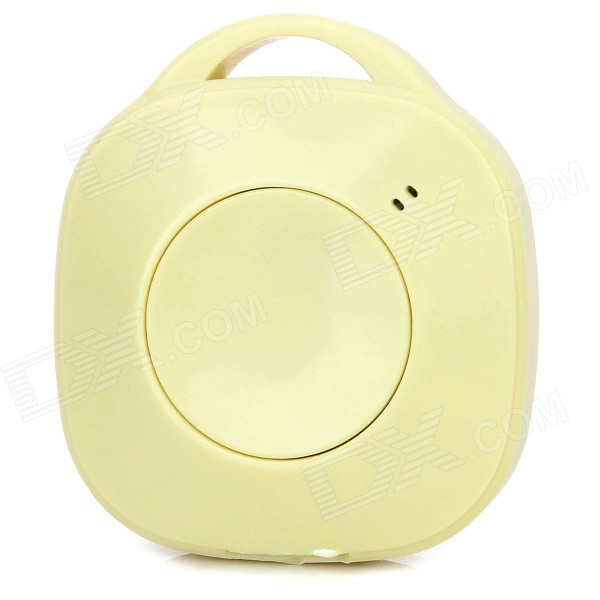 Bluetooth V3.0 Anti-Kadonnut Self-Timer - Apricot (1 x CR2032L)