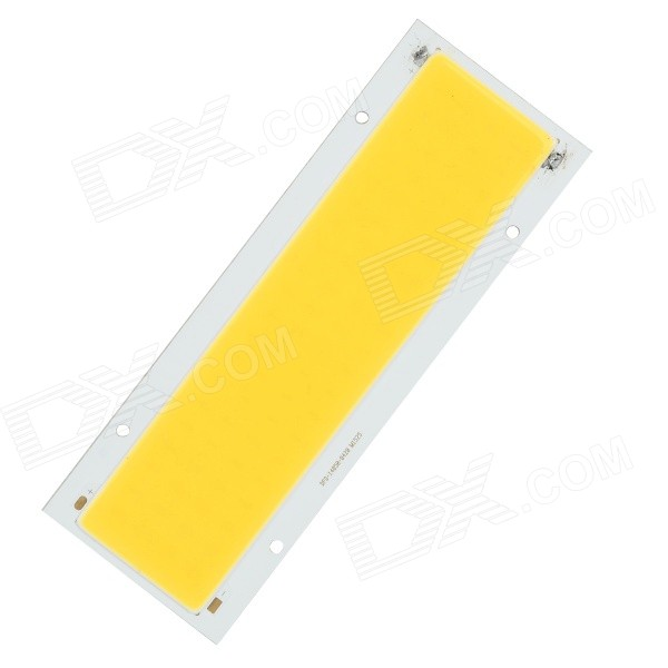 20W 1500lm 3200K 80-COB LED Warm White Light Module - White + Yellow (DC 12~14V) 20w high power led ultra violet uv light chip 365nm 370nm 380nm 385nm 395 405nm 420nm 425nm diy cob light source epileds 42mil