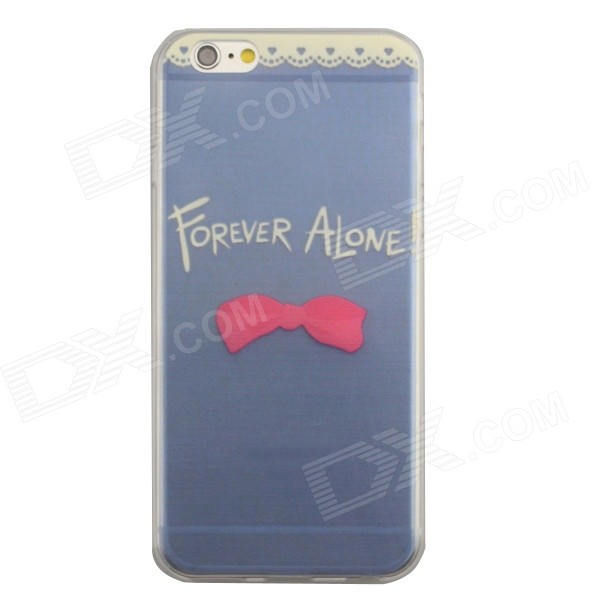 0.3mm Slim Ultra Thin TPU Case for IPHONE 6 4.7 Transparent Blue + White + Red