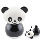 Panda Style Decorative Nail Polish - Black (7ml)