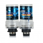 D2S 35W 3200lm 8000K Cold White Car HID Xenon Lamps Bulbs (2PCS)