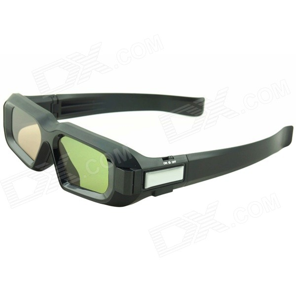 hw01-3d-rechargeable-active-shutter-glasses-w-bluetooth-for-3d-projector-tv-more-black