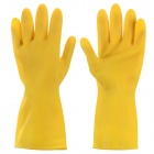 Lengthen Thicken Water Resistant Working Safety Gloves - Yellow (Pair)